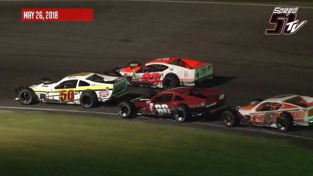 Tri-Track Open Modifieds at Claremont...