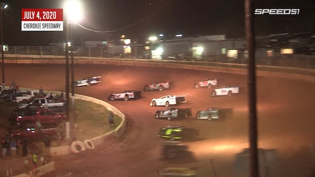 604 Late Model at Cherokee - Highlights - July 4, 2020