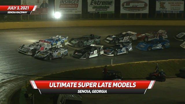 Ultimate Super Late Models at Senoia ...