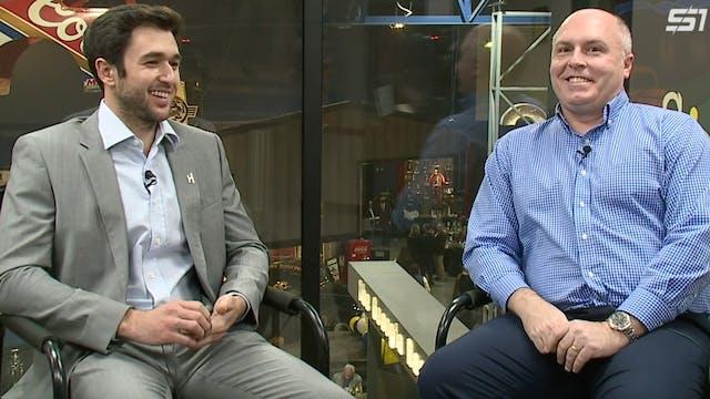 Chase Elliott Sit-Down Interview at G...