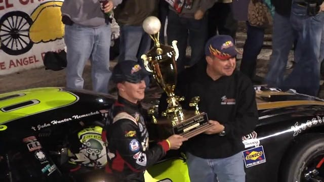 John Hunter Nemechek Wins 2014 Snowba...