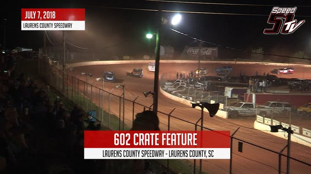 602 Crates at Laurens Co - Highlights...