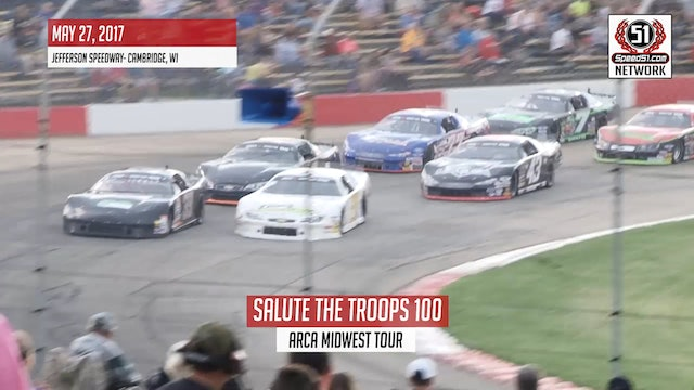 Mid West Tour SLM - Jefferson Speedway  Highlights - May 27, 2017