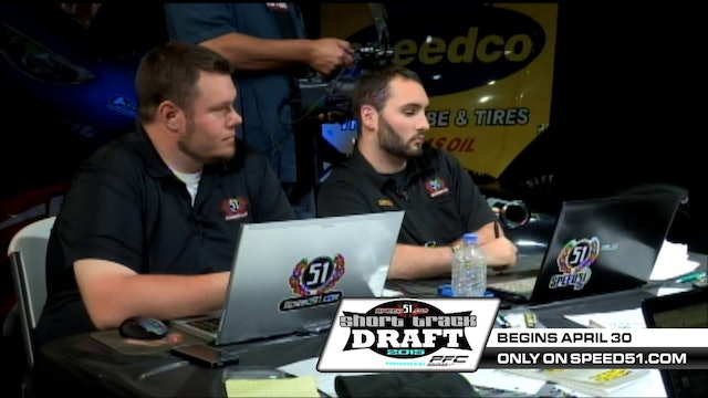 51 Short Track Draft War Room Episode 6 - Where Do You Look