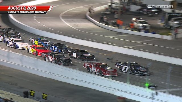Pro Late Model 100 at Nashville - Highlights - Aug. 8, 2020