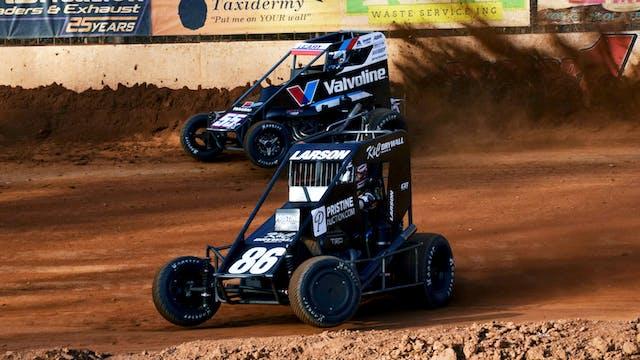 Carolina Midget Showdown Race #2 at M...