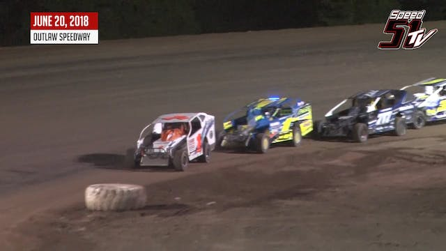 Crate Sportsman at Outlaw - Highlight...
