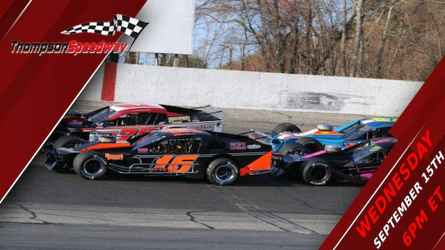 Open Outlaw Modified Series at Thompson - Replay - Sep. 15, 2021