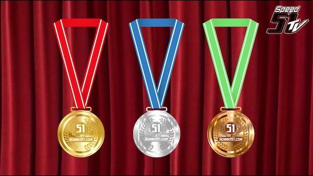 2018 Speedweeks - Medal Ceremony - Fe...