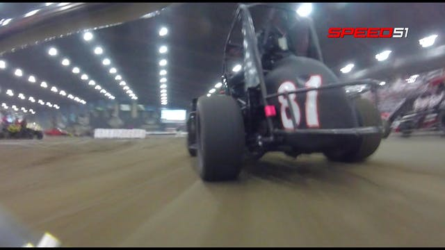 Justin Peck Chili Bowl Friday Qualifi...