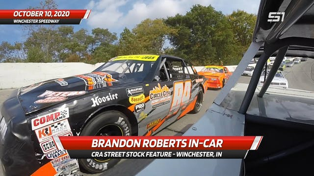 Brandon Roberts Street Stock at Winch...