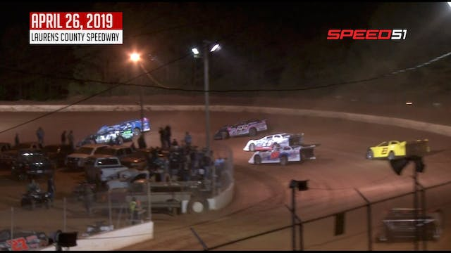 602 Late Models at Laurens County - A...