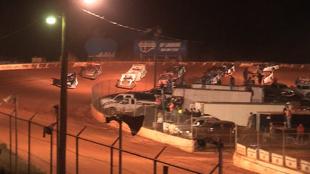 Ultimate Super Late Models at Laurens...