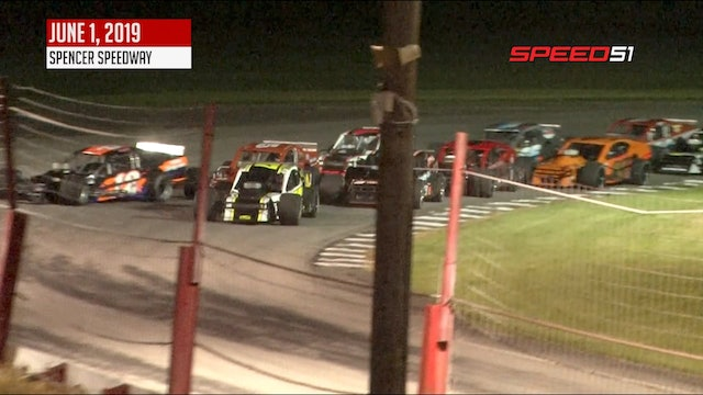 RoC Modifieds at Spencer - Highlights - June 1, 2019