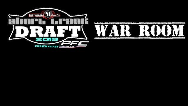51 Short Track Draft War Room Episode 5 - Sleepers