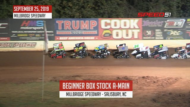 Beginner Box Stock A-Main at Millbrid...