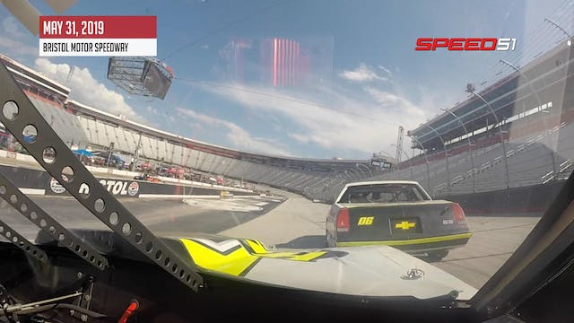 Brett Hudson On-Board at Bristol - Ma...