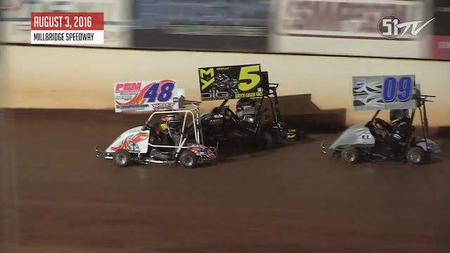 Box Stock Outlaw Karts - Highlights -...