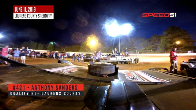 Anthony Sanders On-Board at Laurens C...