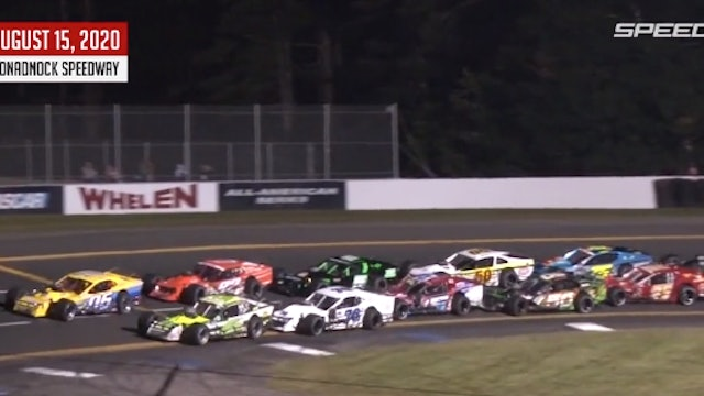 Tri-Track Modifieds at Monadnock - Highlights - Aug. 15, 2020