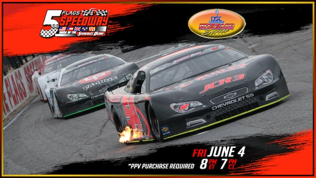 PPV Blizzard Series Opener at Five Flags - June 4, 2021