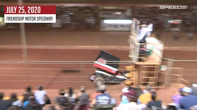 Sprint Cars at Friendship - Highlight...