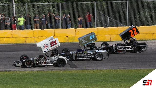 LIVE 350 SMAC Supermodifieds at Wiscasset - Aug. 7, 2021