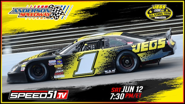 JEGS/CRA All-Stars Tour at Anderson - Replay - June 12, 2021 - Part 1