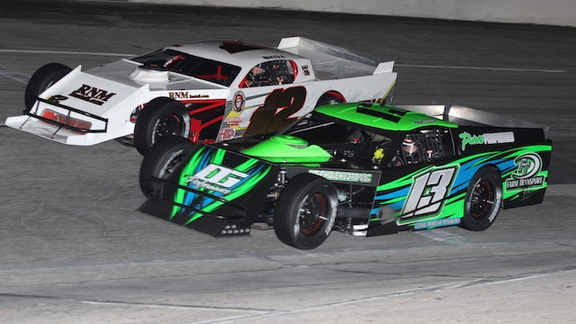 The Last Three: Snowball Derby Modified Features - Race Replay - 2019