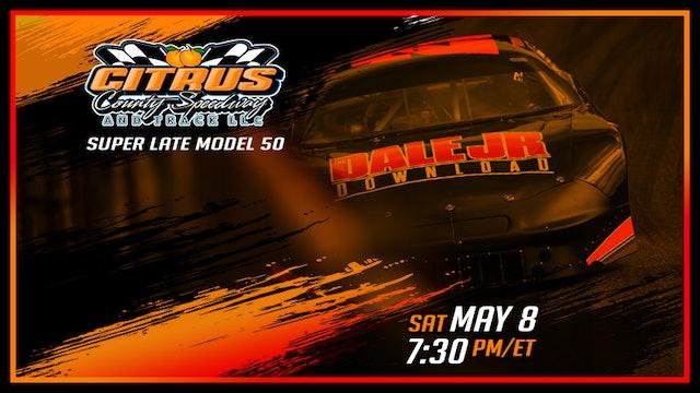Super Late Models at Citrus County - Replay - May 8, 2021