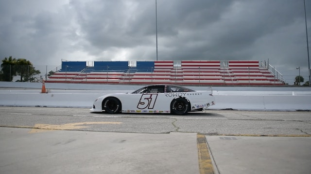 Kyle Busch Super Late Model at New Smyrna Heart To Hart