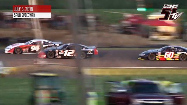 PASS Firecracker 200 at Spud Speedway...