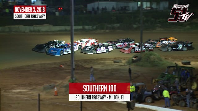 Dirt LM Southern 100 11-3-18 - Highli...