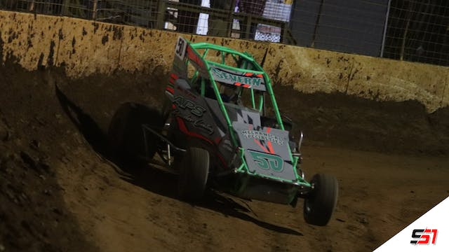 LIVE Non-Winged Micro Sprints at Mill...
