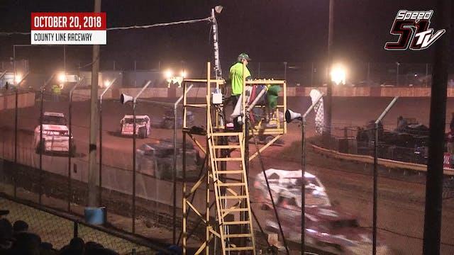 UMP Modifieds - County Line Raceway -...