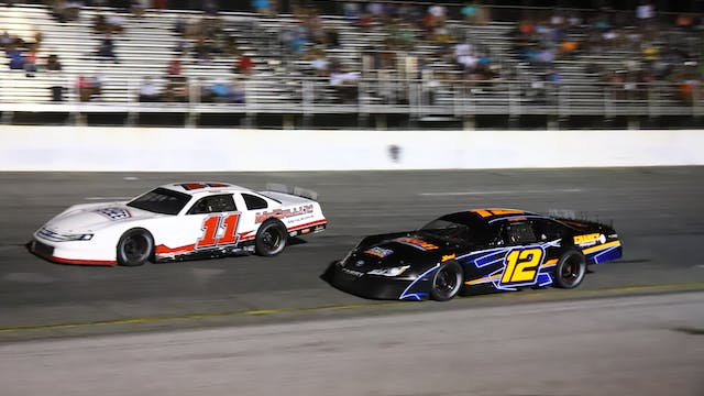 Pro Late Model Twin 75's at Five Flag...