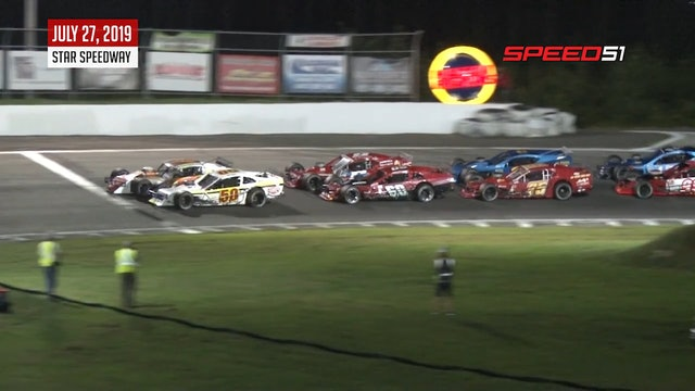 Tri-Track Modifieds SBM 125 at Star - Highlights - July 27, 2019