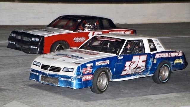 The Last Three: Snowball Derby Pure Stock Features - Race Replay - 2019