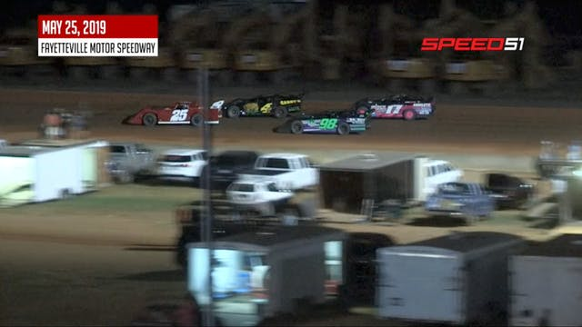 Sportsman Late Models at Fayetteville...