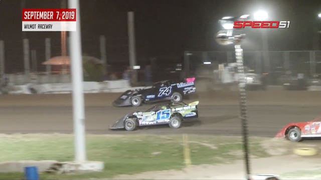 Dirt Kings Late Models at Wilmot - Hi...