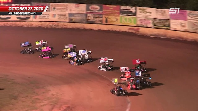 Box Stock A-Main at Millbridge - Highlights - Oct. 27, 2020