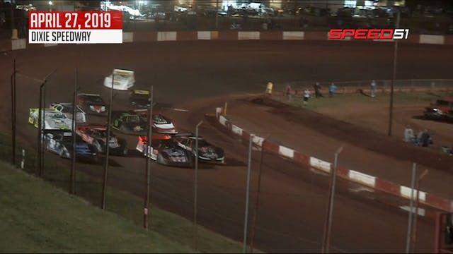 Steelhead 525 Dirt Late Models at Dix...