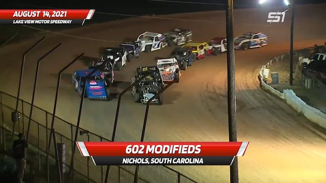 602 Modifieds at Lake View Motor Spee...