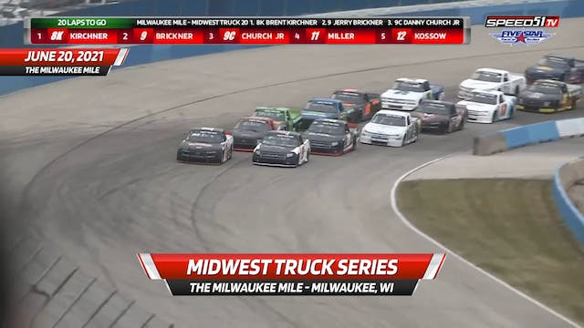 Midwest Truck Series at The Milwaukee...