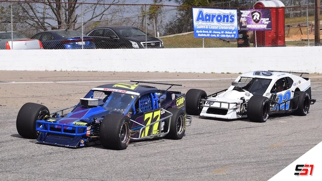 SMART Modifieds at South Boston - Replay - April 3, 2021