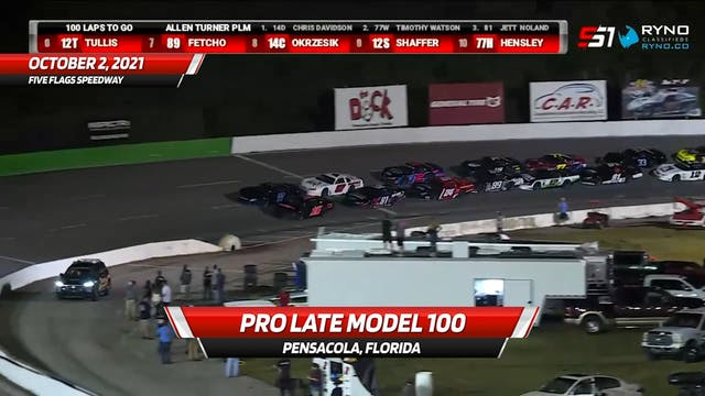 Pro Late Model 100 at Five Flags Spee...