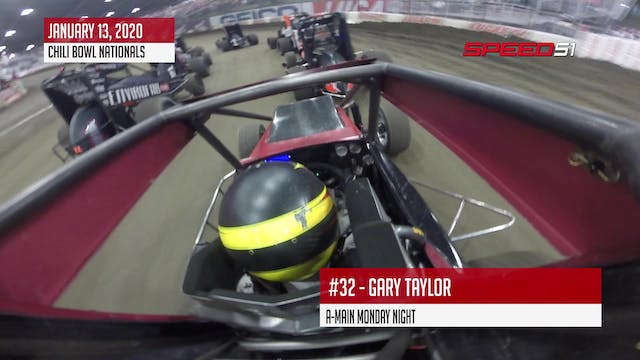 Gary Taylor at Chili Bowl - On Board