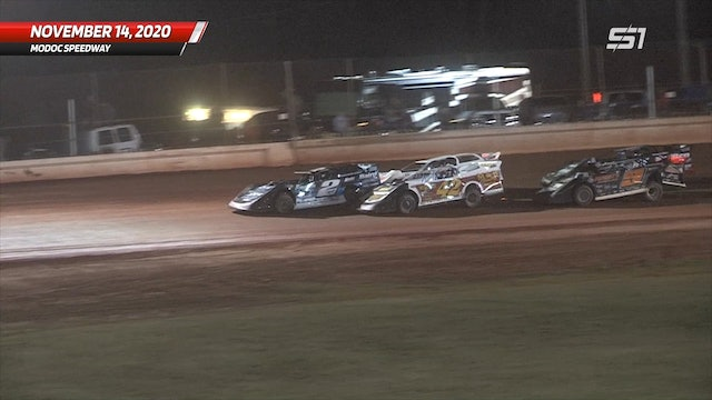 ULTIMATE Super Late Models at Modoc - Highlights - Nov. 14, 2020