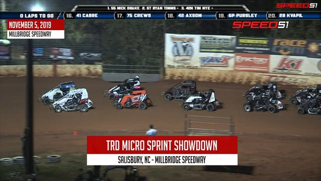 Wingless TRD Micro Sprint Showdown at...