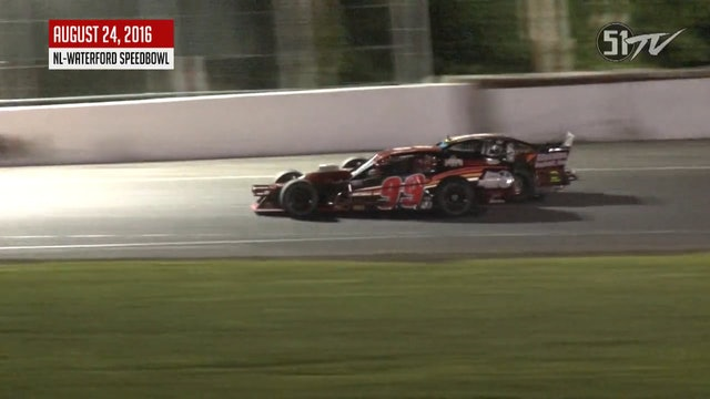 Tri-Track Modifieds Waterford - Highlights - Aug. 25, 2016